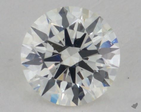 0.70 Carat J-VS2 Excellent Cut Round Diamond