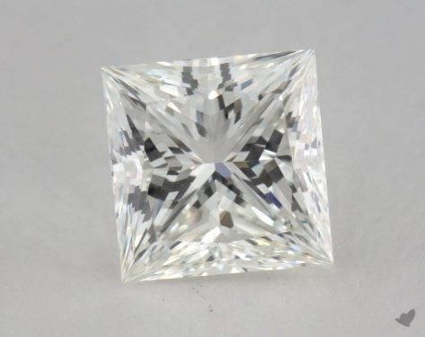 1.65 Carat H-IF Princess Cut Diamond