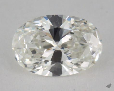 0.60 Carat H-VS2 Oval Cut Diamond