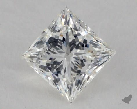 1.21 Carat I-SI1 Ideal Cut Princess Diamond