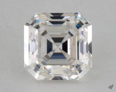 1.06 Carat G-VS1 Asscher Cut Diamond