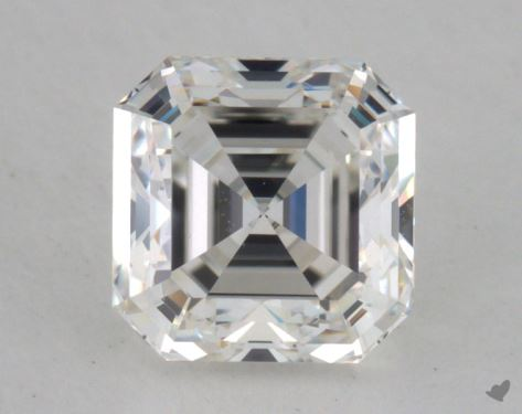 1.07 Carat G-VS1 Asscher Cut Diamond