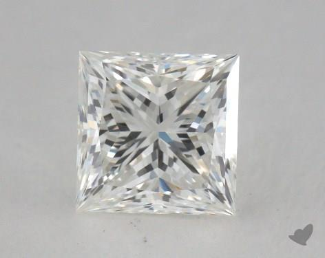 1.01 Carat G-VVS2 Ideal Cut Princess Diamond
