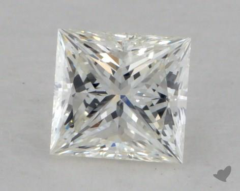 0.43 Carat H-VS2 Ideal Cut Princess Diamond