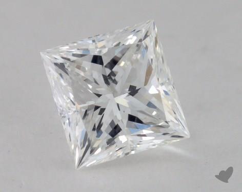 0.80 Carat F-VS1 Ideal Cut Princess Diamond