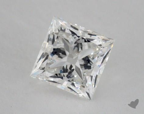 1.51 Carat F-SI1 Princess Cut Diamond