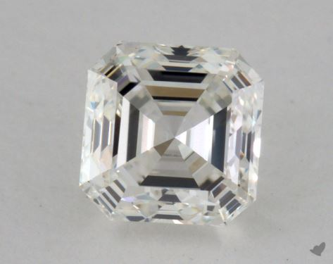 0.92 Carat H-VVS2 Asscher Cut Diamond