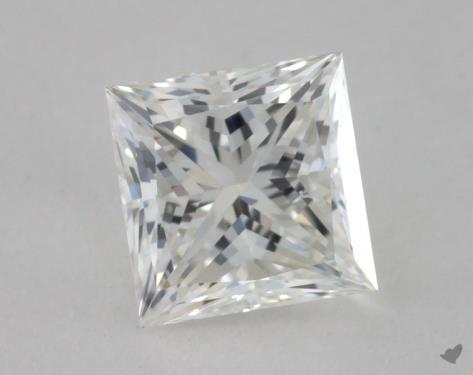0.80 Carat H-VVS2 Princess Cut Diamond