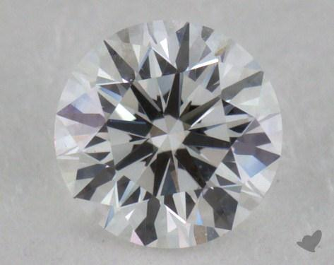 0.32 Carat E-VVS1 Excellent Cut Round Diamond