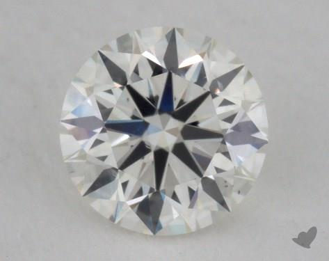 0.50 Carat I-SI1 Excellent Cut Round Diamond