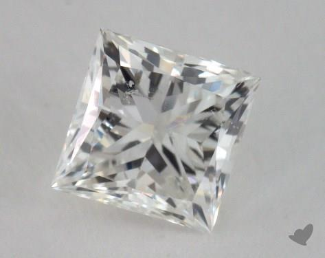 1.01 Carat H-SI2 Very Good Cut Princess Diamond
