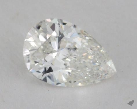0.51 Carat H-VS2 Pear Shape Diamond