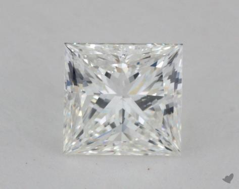 1.01 Carat G-SI2 Ideal Cut Princess Diamond