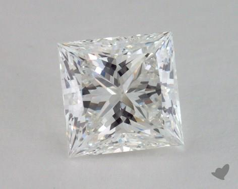 2.15 Carat F-SI2 Ideal Cut Princess Diamond
