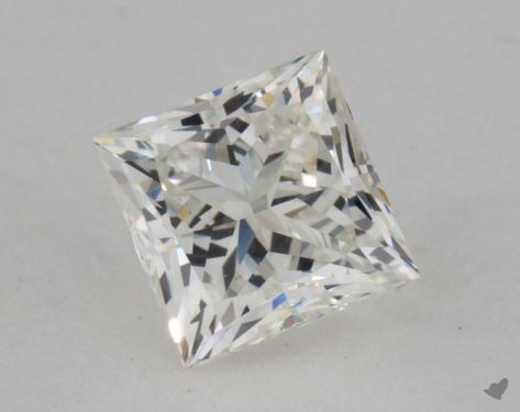 0.71 Carat I-VS1 Very Good Cut Princess Diamond