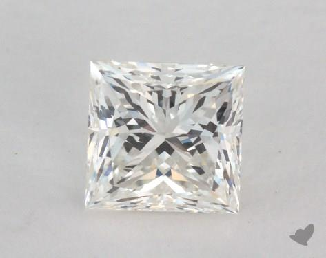 1.00 Carat H-VS2 Very Good Cut Princess Diamond