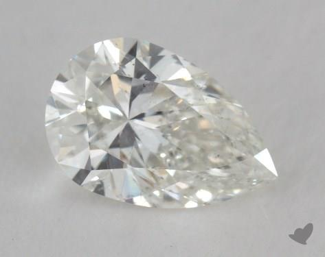 0.97 Carat H-SI2 Pear Shape Diamond