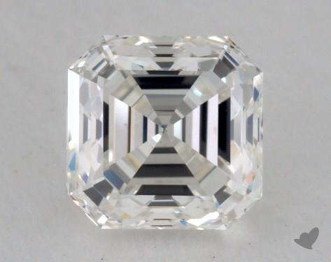 1.00 Carat H-VS1 Asscher Cut Diamond