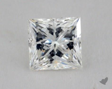 0.60 Carat H-VVS1 Very Good Cut Princess Diamond