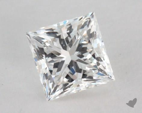 1.00 Carat G-SI1 Princess Cut Diamond