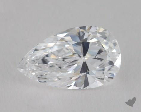 1.51 Carat D-IF Pear Shaped  Diamond