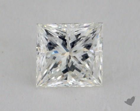 0.60 Carat H-VVS2 Princess Cut Diamond