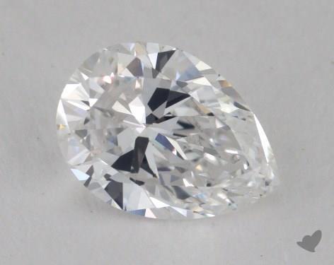 0.98 Carat D-VS1 Pear Shape Diamond