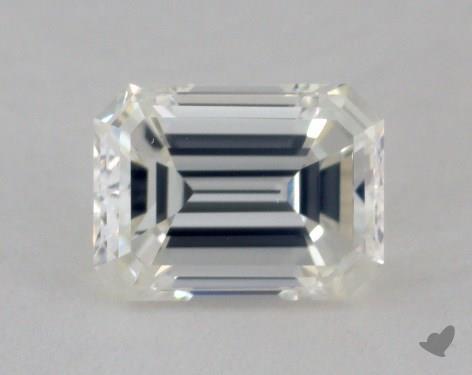 0.71 Carat H-VS2 Emerald Cut Diamond