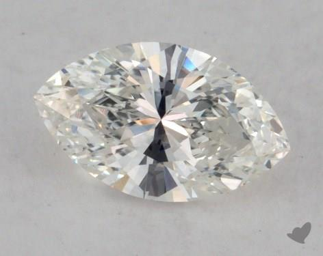 0.59 Carat H-VS2 Marquise Cut  Diamond