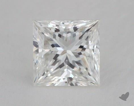 1.06 Carat G-VS2 Ideal Cut Princess Diamond