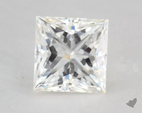 0.79 Carat H-VS2 Ideal Cut Princess Diamond