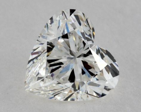 1.70 Carat H-SI2 Heart Cut Diamond