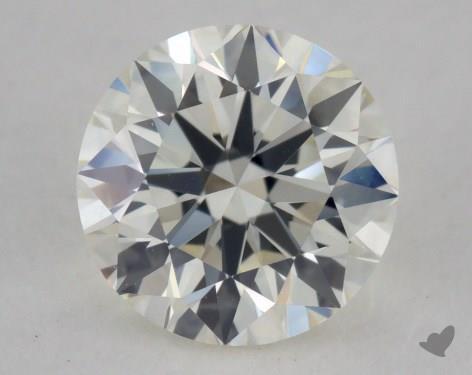 0.63 Carat J-VVS2 Very Good Cut Round Diamond