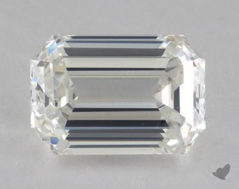 1.00 Carat H-VS2 Emerald Cut Diamond
