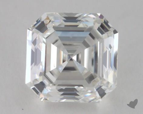 1.70 Carat H-VS2 Asscher Cut Diamond