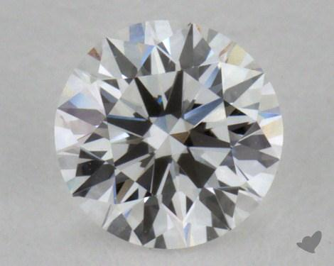 0.33 Carat E-VVS1 Excellent Cut Round Diamond