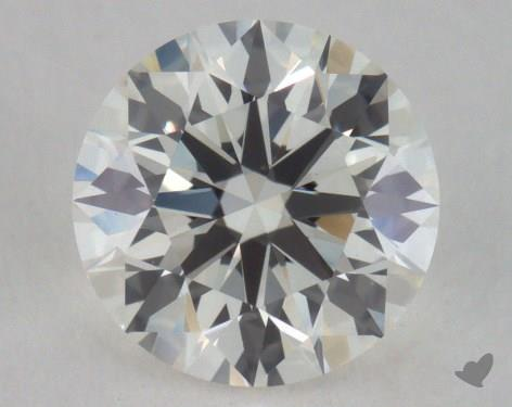 0.74 Carat I-VVS2 True Hearts<sup>TM</sup> Ideal Diamond