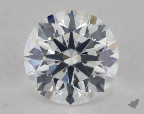 0.70 Carat H-SI2 Ideal Cut Round Diamond