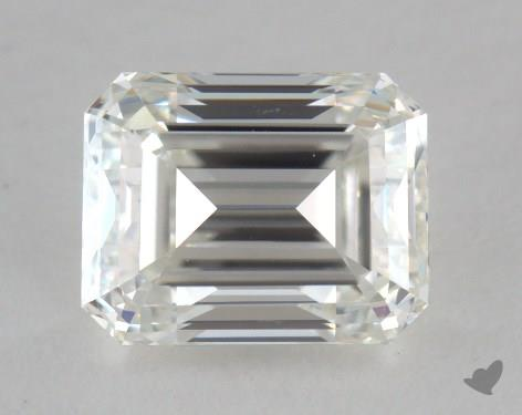 0.99 Carat H-VS1 Emerald Cut Diamond
