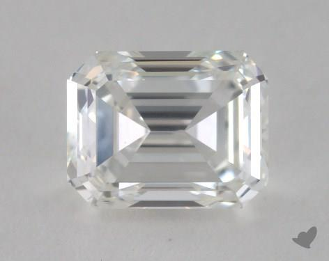 0.96 Carat H-VS2 Emerald Cut Diamond