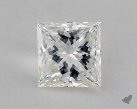 1.56 Carat G-VS2 Ideal Cut Princess Diamond