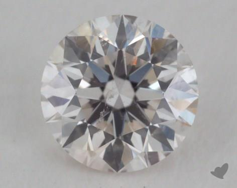 0.30 Carat I-SI2 Excellent Cut Round Diamond