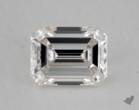 0.50 Carat H-VS2 Emerald Cut Diamond