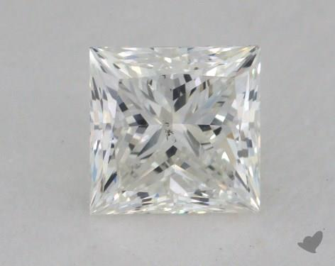0.70 Carat I-SI1 Princess Cut  Diamond
