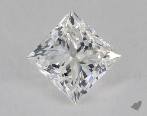 1.68 Carat G-VS1 Ideal Cut Princess Diamond