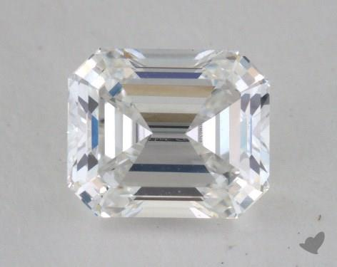 0.91 Carat D-VVS1 Emerald Cut Diamond