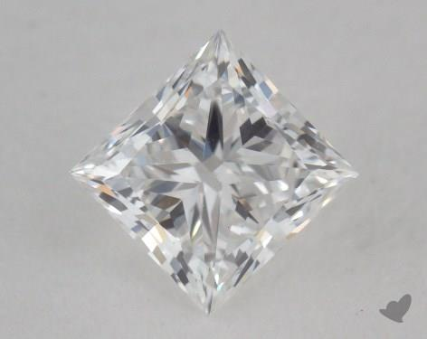 0.50 Carat E-IF Princess Cut Diamond