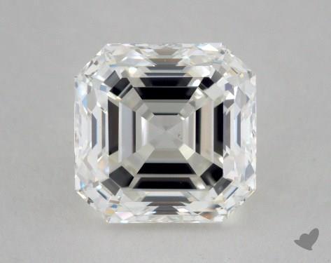 1.71 Carat H-VS1 Asscher Cut Diamond