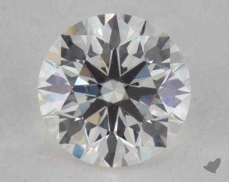 0.57 Carat H-VS2 Ideal Cut Round Diamond