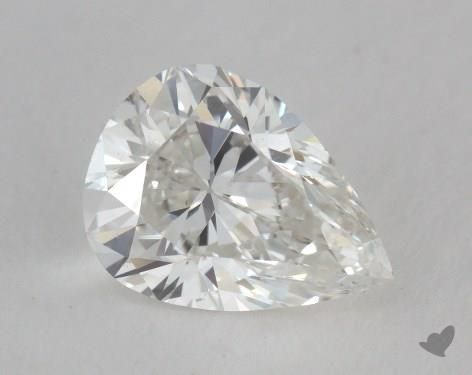 1.40 Carat H-VS2 Pear Cut Diamond